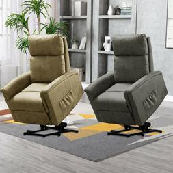 Power Lift Chair Recliner Contemporary Living Room Lounge So