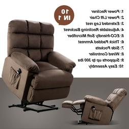 Power Lift Recliner Chair For Elderly Reclining Sofa With Re