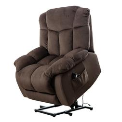 Chocolate Electric Lift Chair Recliner Reclining Chair With