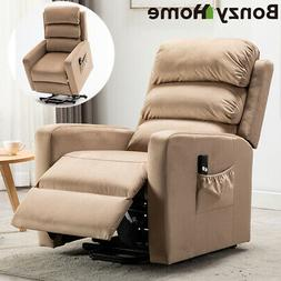 Power Lift Recliner Chair Sofa Padded Seat Armchair Lounge w