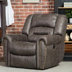 Electric Power Recliner w/Extended USB Lounger Chair Wall Hu