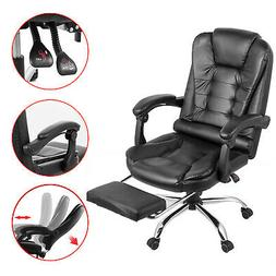 Executive Office Chair Racing Gaming Leather High Back Recli
