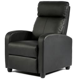 Recliner Chair Modern Leather Chaise Couch Single Accent Rec