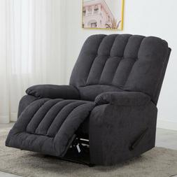MANUAL RECLINER CHAIR SOFA WIDE SEAT OVERSIZED RECLINING LOU