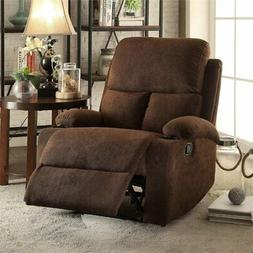 Bowery Hill Recliner in Chocolate