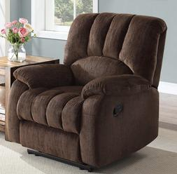 Recliner Large Wide Cushioned Comfort Coils Lazy Reclining B