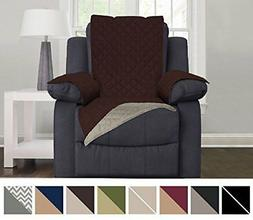 Protective Quilted Reversible Recliner Furniture Chair Cover