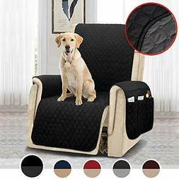 MOYMO Reversible Oversized Recliner Chair Cover,Durable Recl