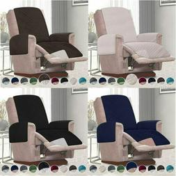 Reversible Small/Oversized Recliner Covers Stylish Chair Sli