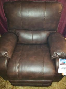 Catnapper Rialto Power Lay Flat Recliner with Extended Ottom