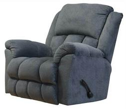 Rocker Recliner with Deluxe Heat and Massage in Charcoal