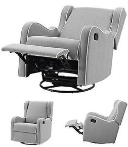 Rocking Chair Swivel Gliding Recliner Baby Seat Home Nursery