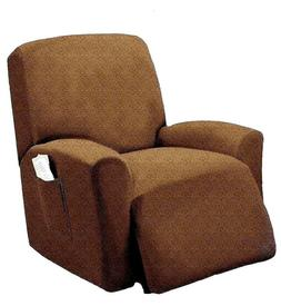 Spandex Pique Stretch Fit Recliner Chair Lazy Boy Cover Slip