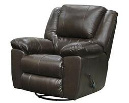Catnapper - Transformer II Leather Power Recliner in Chocola