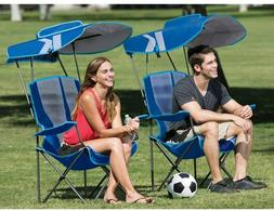 USA 2-Position Recliner Chair &Removable Umbrella& Footrest