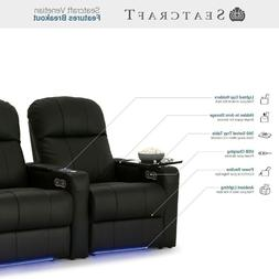 Seatcraft Venetian Home Theater Seating Recliners Seat Chair