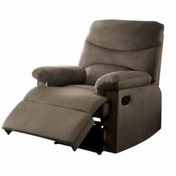 Bowery Hill Woven Recliner in Light Brown